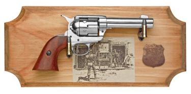 Wyatt Earp Collection Framed Set Non Firing Replica Gun