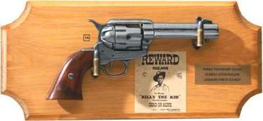 Billy The Kid Collection Framed Set Non Firing Replica Gun
