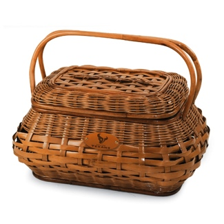 Houston Texans Red Tartan Highlander Picnic Basket