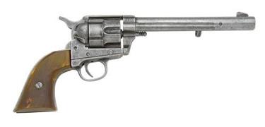 Us M1873 Cavalry Pistol Gray Finish Non Firing Replica Gun