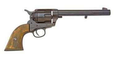 Us M1873 Cavalry Pistol Black Finish Non Firing Replica Gun