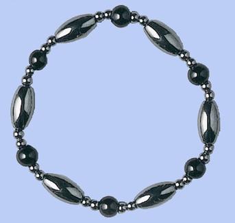 Magnetic Hematite Bracelet BLACK