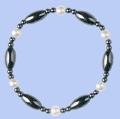 Magnetic Hematite Bracelets PEARL