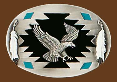 Eagle Belt Buckle 3-1/4 x 2-1/4