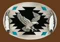 Eagle Belt Buckle 3-1/4 x 2-1/4