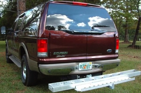 MCS-01 Aluminum Motorcycle Carrier Ramp