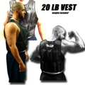 20 LB Weighted Excercise Training Vest