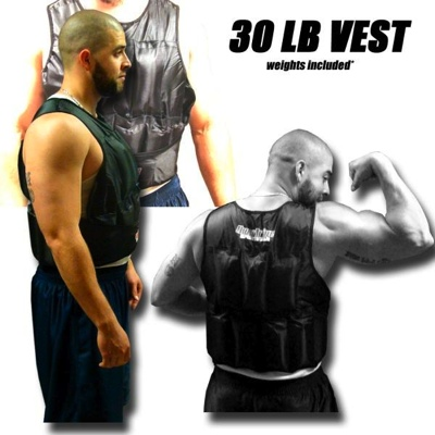 30 LB Weighted Excercise Training Vest