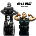 40 LB Weighted Excercise Training Vest