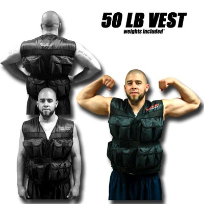 50 LB Weighted Excercise Training Vest
