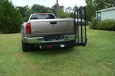 Wheelchair Carrier Ramp Hitch Mount 400lb
