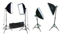 Photo Light SoftBox 2 Strobe 2 Continuous