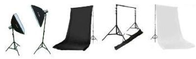Photo Studio Lighting SoftBox Strobe Kit