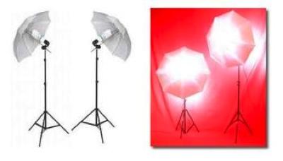 Photo Light Umbrella 2 Strobe 2 Continuous