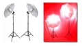 Photo Light Umbrella 2 Strobe 2 Continuous