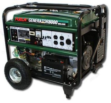 6500/8000 watt generator 13 hp by FUELN
