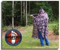 Ghillie Camo Poncho Blind