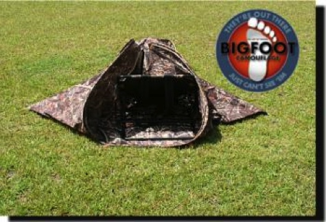 Hunting Blind Camo Ground Layout  LB-01