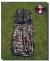 Hunting Blind Camo Ground Layout XL LB-02