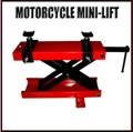 Motorcycle  Jack Repair Lift  Floor Mount 1100lb