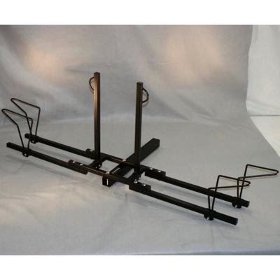 2 Bike Trailer Hitch Bicycle Carrier Holder
