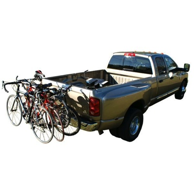 4 Bike Swing Down Collapsible Bike Rack