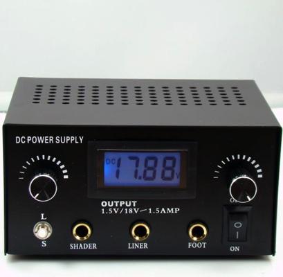 LCD Tattoo Power Supply 2 Machine Capacity