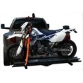 Aluminum Motorcycle Carrier Ramp with Wheel Chock