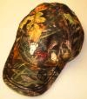 Bigfoot Camo Baseball Cap