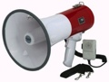 Loud Megaphone Bullhorn 50 Watt Siren Police Outdoor Security