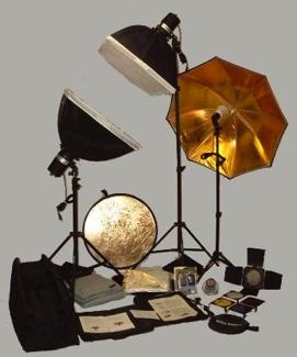 Photo Studio Lighting Kit