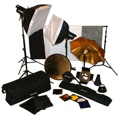 Photo Studio Lighting Kit Deluxe