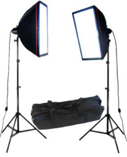 Photo and Video Light SoftBox Two Deluxe