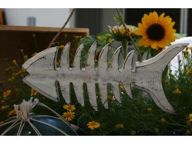 White Fish Bone Wooden Coastal 10 Coastal Decor