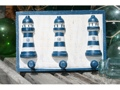 Lighthouse Hanger Rustic Blue Nautical 12 Nautical Decor