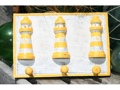 Lighthouse Hanger Rustic Yellow Nautical 12 Nautical Decor