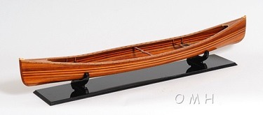 Canoe Model OMH Handcrafted Model
