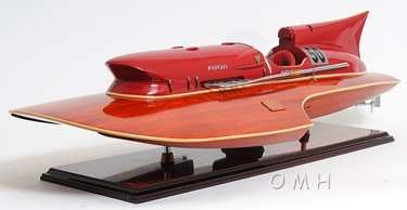 Ferrari Hydroplane OMH Handcrafted Model