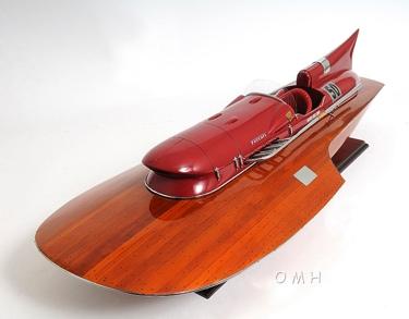 FERRARI HYDROPLANE READY FOR RC OMH Handcrafted Model