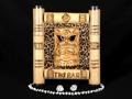Leopard Print Bamboo Sign Tiki Bar Tiki Bar Decor