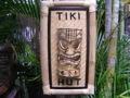 Bamboo Tiki Sign Tiki Hut W Tiki Mask Tiki Bar Decor