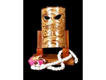 Bamboo Tiki Mask 7 Love Tiki Mask