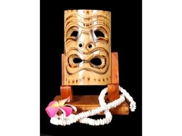 Bamboo Tiki Mask 7 Ocean Tiki Mask