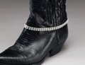 Austrian Crystal Boot Bracelet Double Row