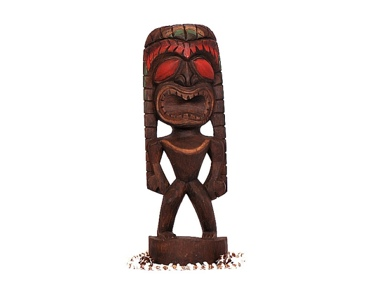 Health Tiki 16 Hand Carved Home Decor