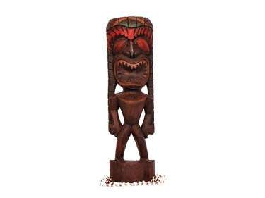 Health Tiki 19 Hand Carved Home Decor