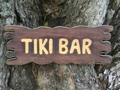 Tiki Bar Sign Drift Wood 20 Island Home Decor