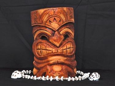 Carved Tiki Mask 8 Love Tiki Hawaiian Gifts