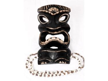 Tiki Mask Kanaloa 8 Money Tiki Island Decor