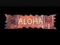 Aloha Sign W Carved Tikis 24 Island Home Decor